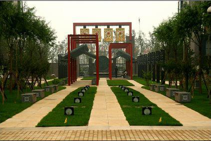 北京奥运会奥运村景观设计