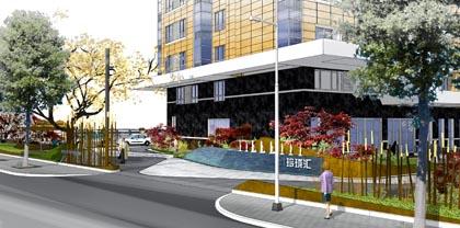 小屯B区商业景观设计